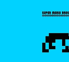 Super Mario Bros Minimal Design by Charles Caldwell