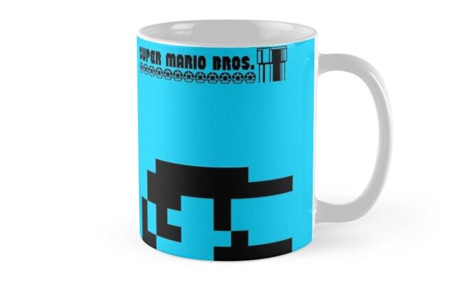 Super Mario Bros Minimal Design by Charles Caldwell