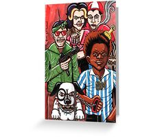 Gang of Rascals Greeting Card