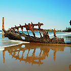 wreck reflections  by warren dacey