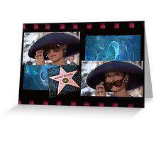 AUDREY HEPBURN~STAR QUALITY Greeting Card