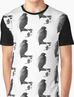 Bird Feather Graphic T-Shirt