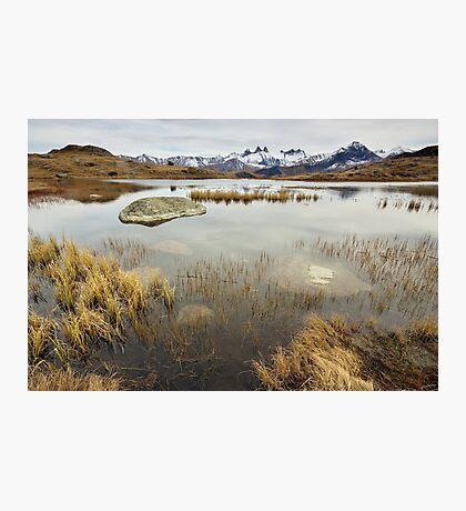 Autumn around lake Guichard Photographic Print