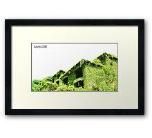 Suburbia 2080 Framed Print