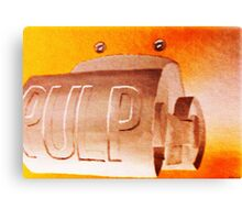 Pulp Canvas Print