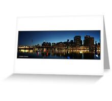Darling harbour at twilight Greeting Card
