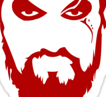 Khal Drogo Red Game of Thrones Sticker
