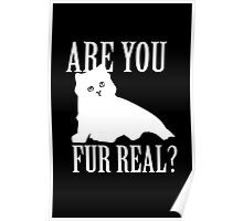 Are You Fur Real Poster