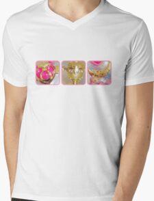 Sailor Moon's Battle Gear Mens V-Neck T-Shirt
