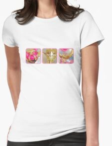 Sailor Moon's Battle Gear Womens Fitted T-Shirt