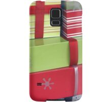 Lime and Red Christmas Packages Samsung Galaxy Case/Skin