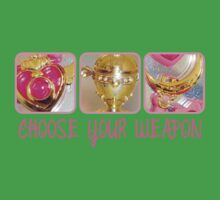 Choose Your Weapon Sailor Moon Style Kids Clothes