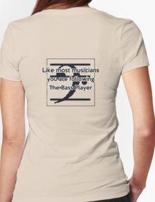 Follow the Bass Womens Fitted T-Shirt