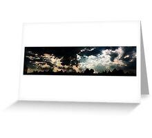 Sky Light Rays Greeting Card