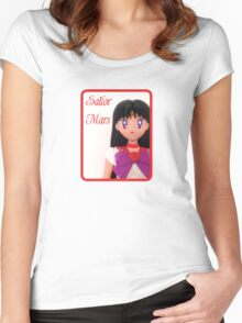 I am Sailor Mars  Women's Fitted Scoop T-Shirt
