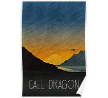Tamriel Shout - Call Dragon Poster