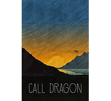 Tamriel Shout - Call Dragon Photographic Print