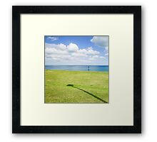 North East Coast - A View  Framed Print