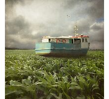 Cornboat Photographic Print
