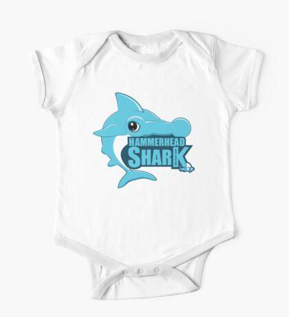 Shark, Blue Hammerhead Shark  One Piece - Short Sleeve