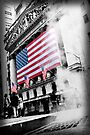 Something burns under Wall Street by luciaferrer