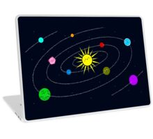 The Solar System Laptop Skin
