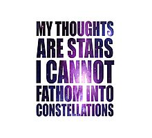 Constellations - TFioS Photographic Print