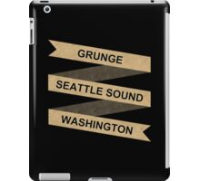 Grunge Seattle Washington iPad Case/Skin