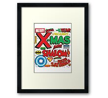 SuperHolidays! Framed Print