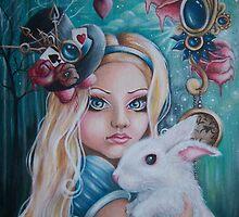 """Alice in Wonderland """"Lost in Wonderland"""" by magicalspirit"""