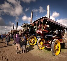 Showmans Engines at Dorset  by Rob Hawkins