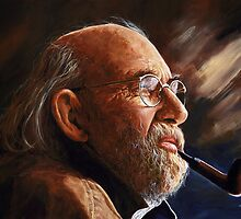 Free spirit - Allen Ginsberg by Imre Toth (Emerico)