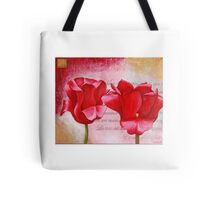Two Tulips Tote Bag