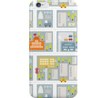 Winter in the city. iPhone Case/Skin