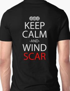 inuyasha keep calm and wind scar anime manga shirt T-Shirt