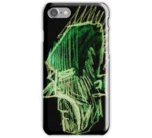 Green Faced iPhone Case/Skin