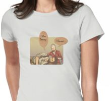Uncharted LOVE Womens Fitted T-Shirt