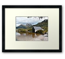 Dove Lake and Cradle Mtn Framed Print