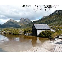 Dove Lake and Cradle Mtn Photographic Print