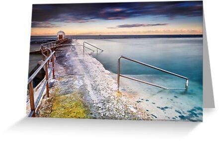 Merewether Ocean Baths by Michael Howard