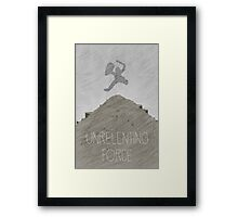 Tamriel Shout - Unrelenting Force Framed Print