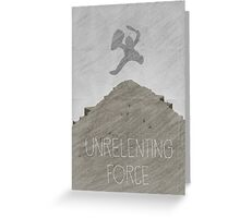 Tamriel Shout - Unrelenting Force Greeting Card