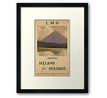 Vintage poster - Ireland Framed Print