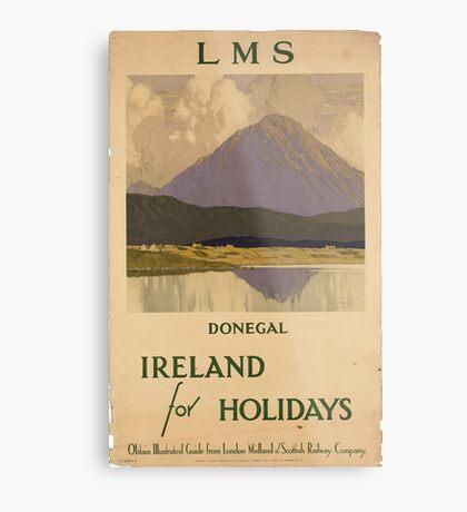 Vintage poster - Ireland Metal Print