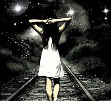 Walking Girl  by Blindlai