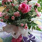 Flowers for My Sweet Pea by Sandra Fortier