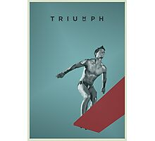 Triumph Photographic Print