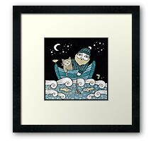 The Fisherman's Cat Framed Print
