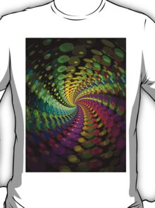 Abstract / Psychedelic Spiral Pattern T-Shirt