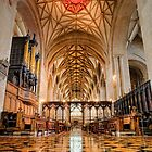 Tewkesbury Abbey Floor to Ceiling by hebrideslight
